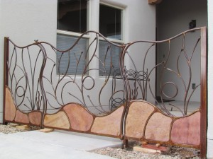 vines and flagstone