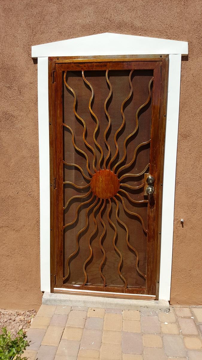Security / Screen Doors - Albuquerque Custom Gates By Jose Varela